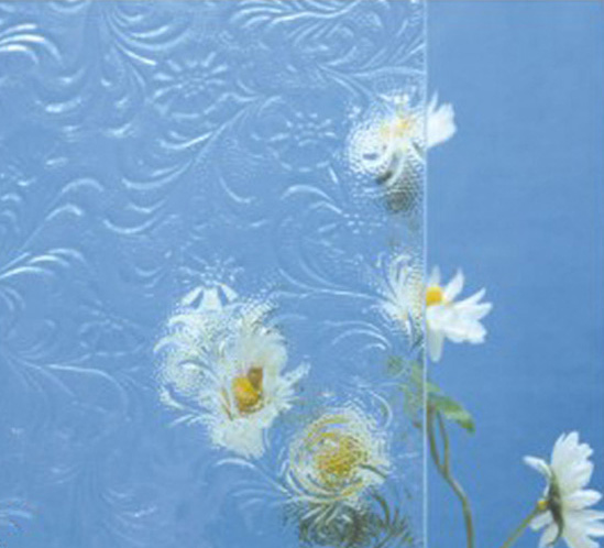 Floral Glass Pattern